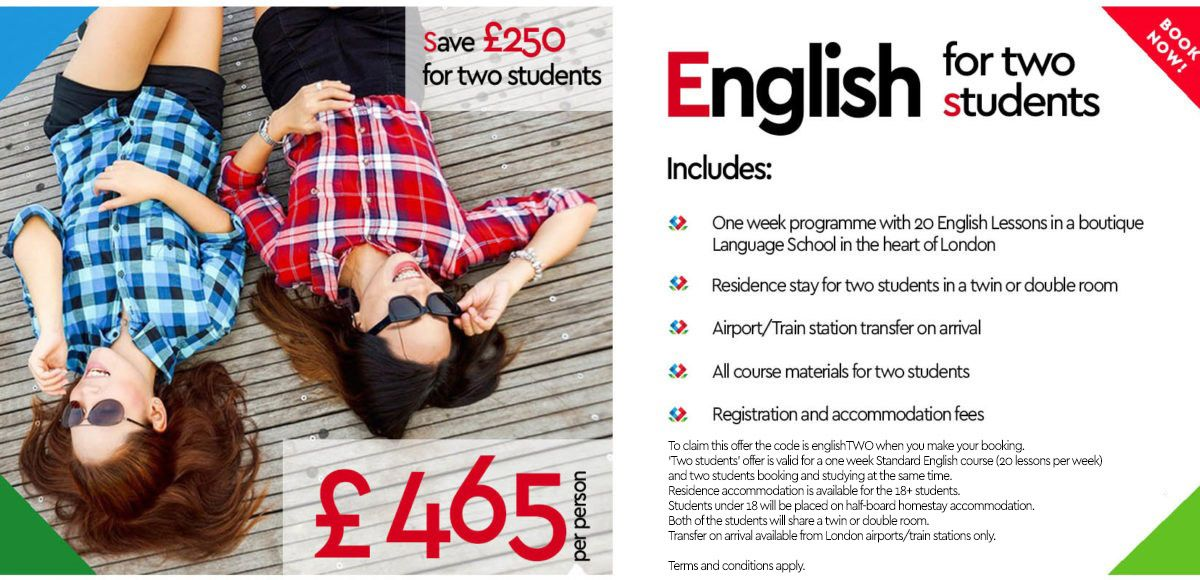 English for two students