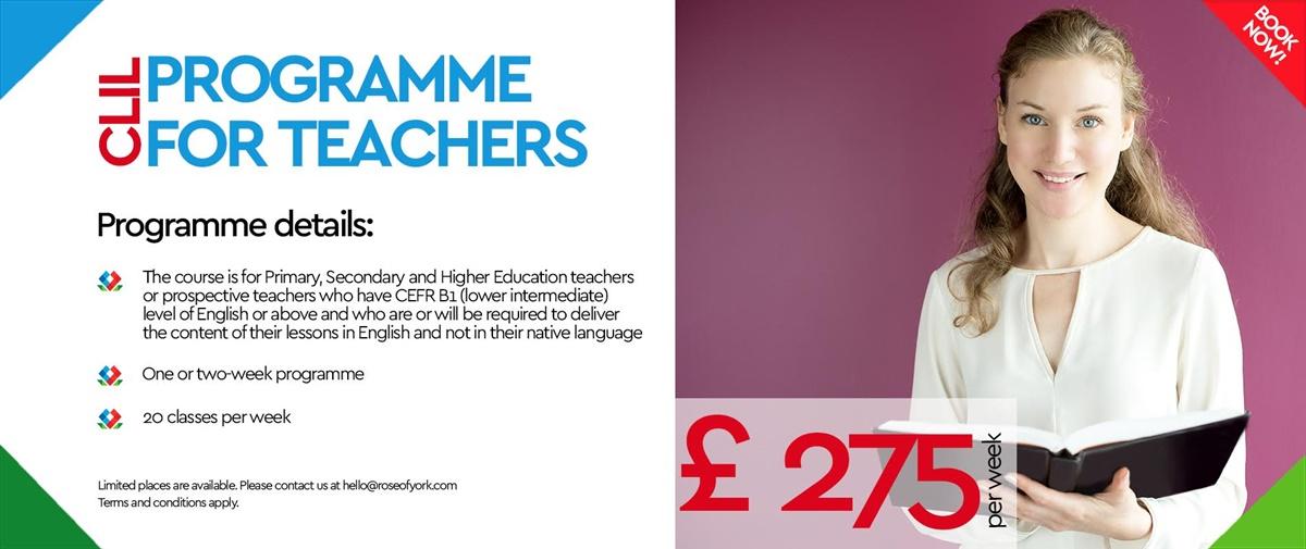 Programme for Teachers CLIL