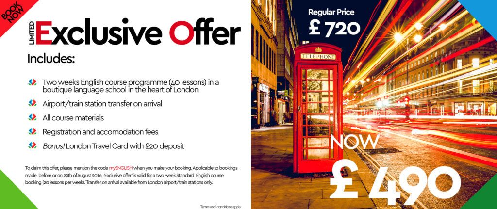 Rose of York Language School Offer