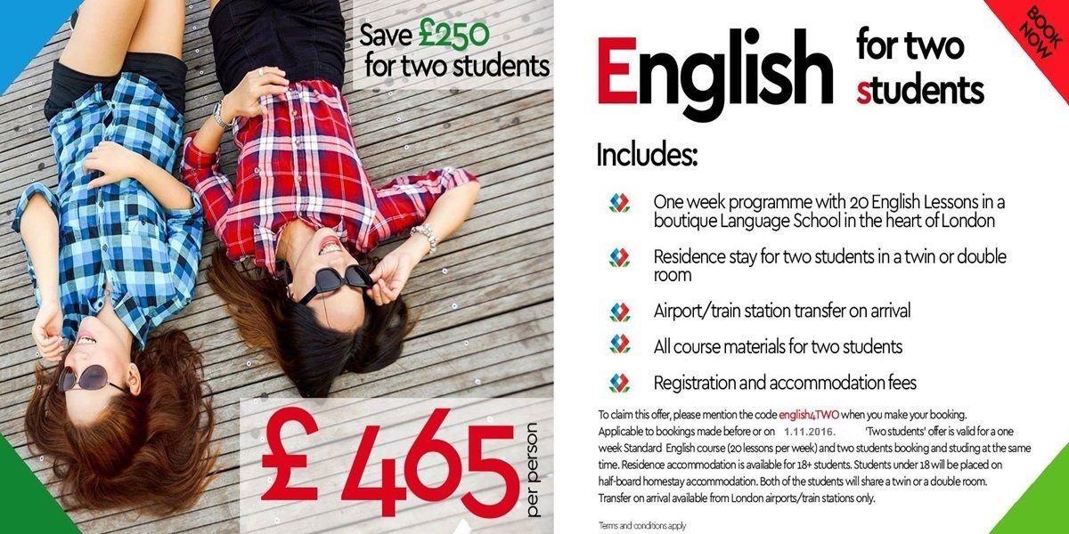 English Course for two students