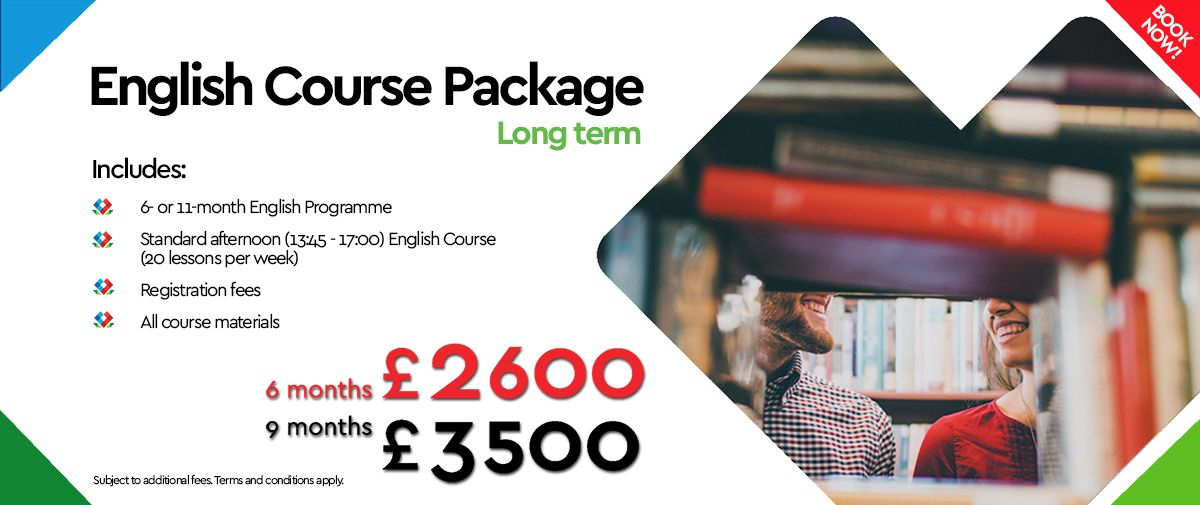 Banner English Course Package