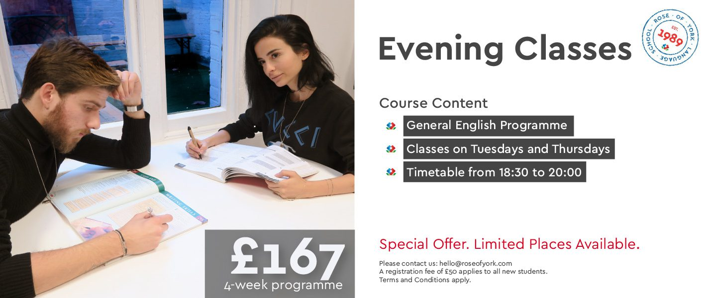 English Evening Classes