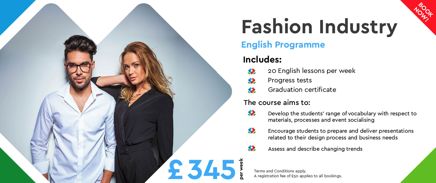 English For The Fashion Industry Central London Rose Of York