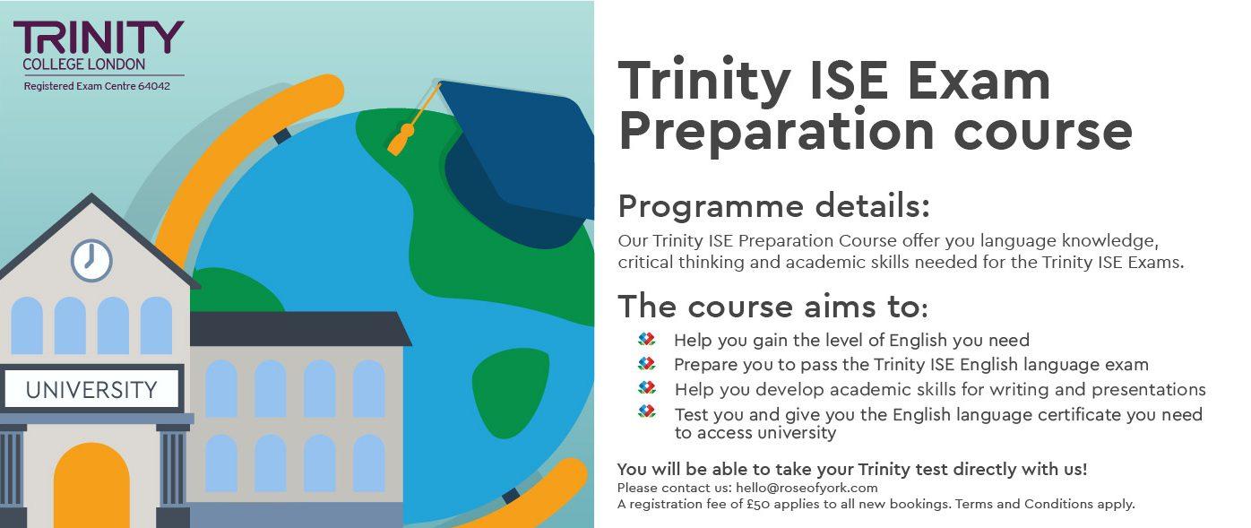 trinity ise preparation